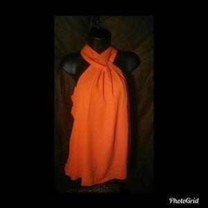 Nico LA Orange Tunic Halter Junior